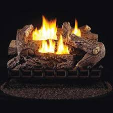 40000 ventless gas fireplace logs