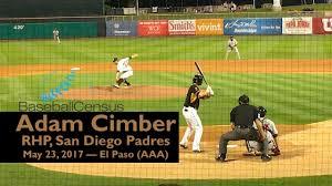 Adam Cimber, RHP, San Diego Padres — May 23, 2017 - YouTube