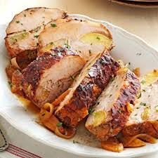 apple cinnamon pork loin recipe taste