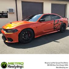 Automotive Graphics Decals 3m 1080 G364 Gloss Fiery Orange Vinyl Vehicle Car Wrap Decal Film Sheet Roll