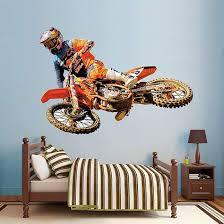 Life Size Ryan Dungey Wall Decal Shop Fathead For Motocross Decor Dirt Bike Bedroom Motocross Bedroom Motocross Room
