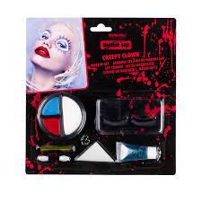 make up creepy clown 8 pieces