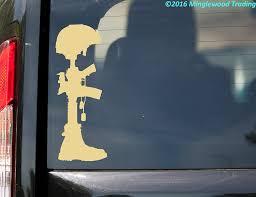 Buy Fallen Soldier Battle Cross Custom Vinyl Decal Sticker 8 X 3 Battlefield Army Honor Ivory In Cheap Price On Alibaba Com