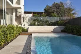 Infinity Pool Tiled Pool Pebble Edging Glass Fence Pool Garden Pool Outside Tiles