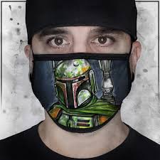 Star Wars - Boba Fett Face Mask – Big ...