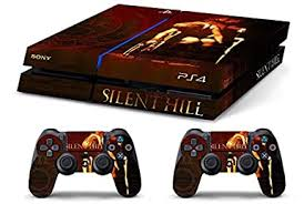 Amazon Com Skin Ps4 Old Silent Hill Limited Edition Decal Cover Adesiva Playstation 4 Slim Sony Bundle Video Games