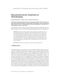 nanocines for treatment of viral