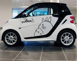 Cat Black White Small Size Car Styling Body Car Covers Vinyl Decal Hood Cover Totoro Car Stickers Decoration Modified Car Stickers Decoration Car Stickertotoro Car Sticker Aliexpress
