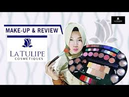 make up dan review palette la tulipe
