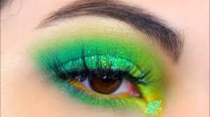 summer green eye makeup tutorial you