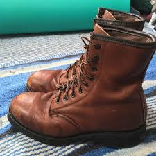 land rover brown leather boots