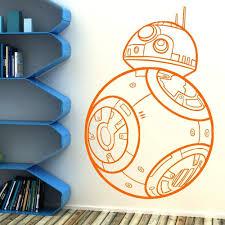 Star Wars Bb 8 Sphero Style Wall Window Sticker Decal Bedroom Movie Character 2 Home Garden Children S Bedroom 3d Decor Decals Stickers Vinyl Art