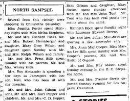 Mason (M&M Ray), Steele (M&M Fred), Stphns (M&M BC, Melba), Smith ...