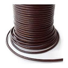 auroris 5m leather cord round Ø 2