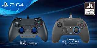 PlayStation 4 has a pair of controllers ...