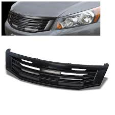 Black Mugen Style Replacement Grille Grill For 08 10 Honda Accord Sedan Cp2 Cp3 Buildfastcar