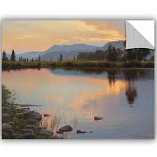 Artwall Jay Moore Tranquil Evening Removable Wall Decal Wayfair