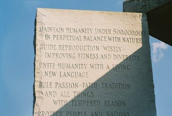 """georgia guide stones ile ilgili görsel sonucu"""""""