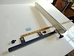Saw Fence In Industrial Woodworking Equipment For Sale Ebay