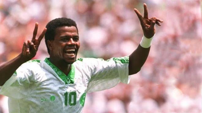 سعيد العويران نجم كرة القدم السعودية