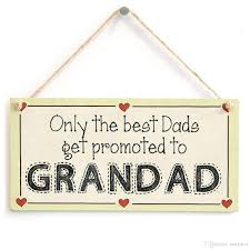 best dads get promoted to grandad