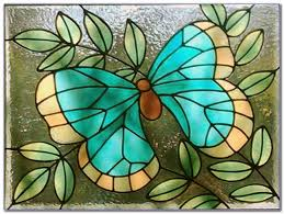 easy stained glass window patterns
