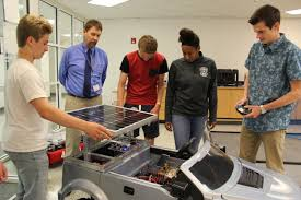 Landstown High School solar team recognized with national award - The Core