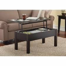 wooden lift up top coffee table inside