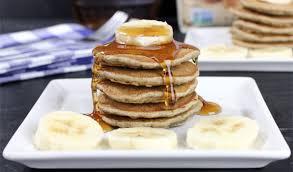 banana ermilk buckwheat pancakes