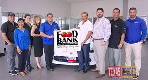 burns motors co sponsors food bank rgv