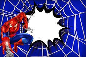 Imprimibles De Spiderman Con Imagenes Invitacion De Spiderman