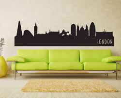 London England Skyline Vinyl Wall Decal The Personalized Gift Co