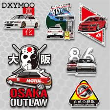 Ae86 Car Stickers Japanese Evo Motorcycle Auto Whole Body Window Tail Vinyl Decal Bumpers 3m For Osaka Outlaw Hakone Car Sticker Stickers Japanesevinyl Decal Aliexpress