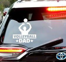 Volleyball Car Decal Ebay