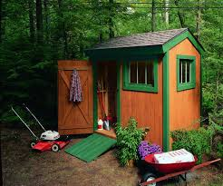 build a garden shed 6 steps with