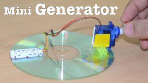 how to make a mini generator at home