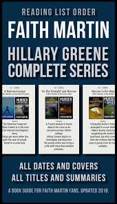 Reading List Order of Faith Martin Hillary Greene Series eBook by Mobile  Library   Rakuten Kobo
