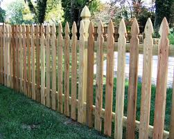 Colonial Gothic Picket Fence 2 Baltimore By Mid Atlantic Deck And Fence Houzz Uk