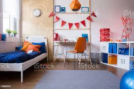 Modern Teen Boy Bedroom Stock Photo Download Image Now Istock