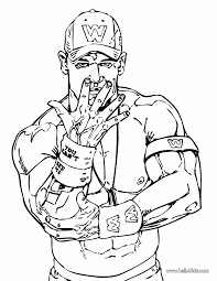 wwe john cena coloring pages home tall