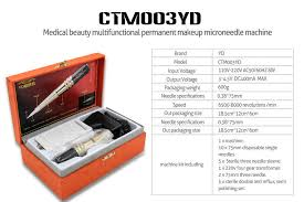 low noise permanent makeup machine kit