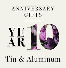 our guide to 10th anniversary gifts in