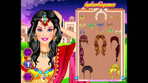 wedding dress up makeover games