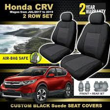 black honda cr v seat covers 2row 5