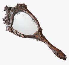 antique hand mirrors art nouveau
