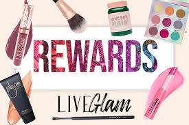 liveglam rewards for free makeup