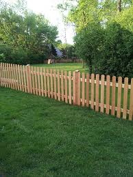 Fencing Wood Fence Picket Fence