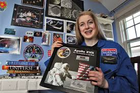 Astronaut Abby' is crowdfunding her way to outer space | Star Tribune