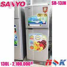 Tủ lạnh Sanyo SR-13JN 130 lít, không đóng tuyết, giá rẻ