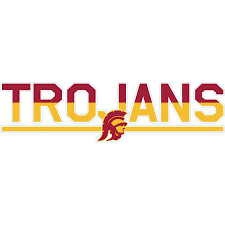 Usc Trojans 3 X 10 Duo Tone Car Decal